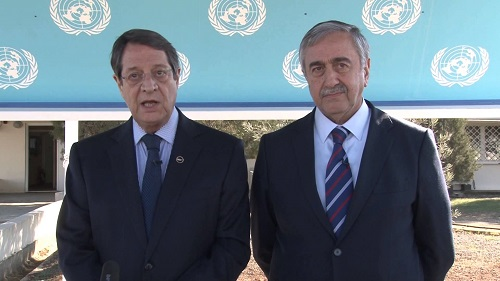 North Cyprus News - Anastasiades - Akinci