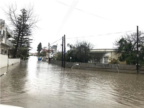 North Cyprus News - Floods in Famagusta