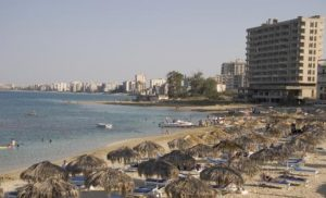 North Cyprus News - Palm Beach Hotel - Adjacent to Fenced-off Marash - Varosha
